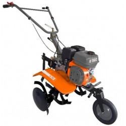 Motocultor O-Mac MC70,  cu roti de cauciuc,  plug si rarita,  putere motor 7 CP,  latime de lucru 90 cm,  UMC70B19B4TOM/0039