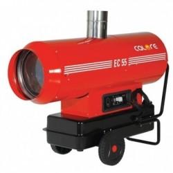 Tun de caldura cu ardere indirecta EC55 CALORE, putere 58,6kW, debit aer 2975mcb/h, motorina, 230V