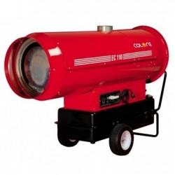 Tun de caldura cu ardere indirecta EC110 CALORE, putere 110kW, debit aer 6300mcb/h, motorina, 230V