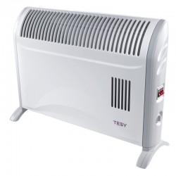 Convector electric de podea, TESY CN 204 ZF, cu termostat mecanic si ventilator, putere 2000W