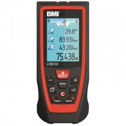 Telemetru LDM60 BMI,  lungime maxima de masurare 60m,  functie Bluetooth