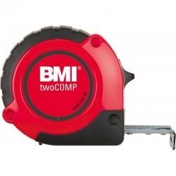 Ruleta BMI twoCOMP,  lungime banda 3m,  latime banda 16mm