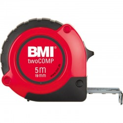 Ruleta BMI twoCOMP,  lungime banda 5m,  latime banda 19mm