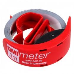 Ruleta BMI METER,  lungime banda 3m,  latime banda 16mm
