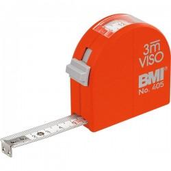 Ruleta cu 3 functii,  BMI VISO,  lungime banda 3m,  latime banda 16mm