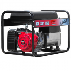 Generator de curent monofazat AGT 7201 HSB,  R26