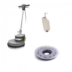 Monodisc cu perie dura si rezervor apa,  Lavor SDM-R 45G 16-130,  putere 1300W,  230V