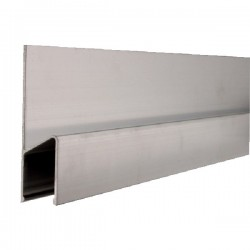 Dreptar de aluminiu tip H BMI-689200 HK,  lungime 2.0m
