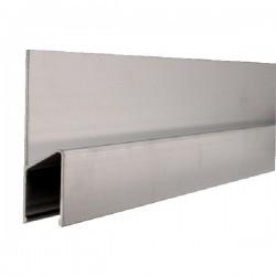 Dreptar de aluminiu tip H BMI-689250 HK,  lungime 2.5m