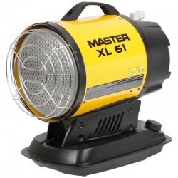 Incalzitor cu raze infrarosii, XL61 MASTER putere calorica 17kW, alimentare 230V, motorina