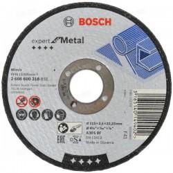 Disc taiere otel EXPERT 115x22.2x2.5mm,  BOSCH,  2608600318