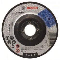 Disc taiere otel EXPERT 115x22.2x2.5mm,  profil convex,  BOSCH,  2608600005