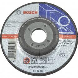 Disc polizare otel EXPERT 125x22.2x6.0mm,  profil convex,  BOSCH,  2608600223