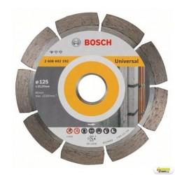 Disc diamantat Universal BOSCH 125x22.2mm,  2608602192