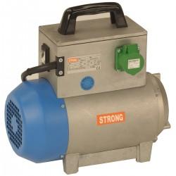 Convertizor electric STRONG SK12M,  alimentare 230V,  putere 1.2kVA,  curent debitat 16.5A,  1 priza,  carcasa metalica