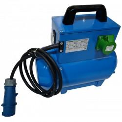 Convertizor electric STRONG SK18M,  alimentare 230V,  putere 1.8kVA,  curent debitat 24.7A,  2 prize,  carcasa metalica