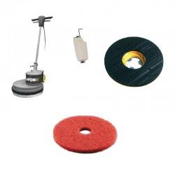 Monodisc SDM-R 45G 16.4-130 LAVOR,  pt curatat podele din linoleum,  ceramica,  PVC,  mochete,  1300W,  230V