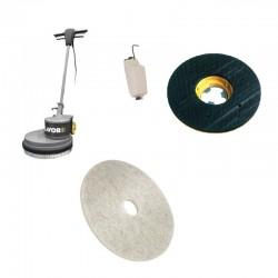 Monodisc SDM-R 45G 16.7-130 LAVOR,  pt curatarea si refacerea luciului metalic al podelelor metalice si din inox,  1300W