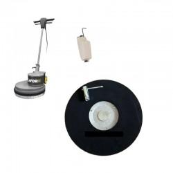 Monodisc SDM-R 45G 16.9-160 LAVOR,  u disc din piatra pt curatarea si slefuirea podelelor din beton,  1600W