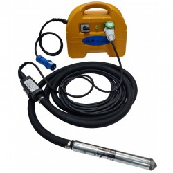 PACHET - Lance vibratoare VS370 diametru 37mm si convertizor SK1M STRONG,  carcasa ABS,  230V