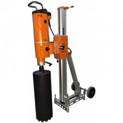 SISTEM COMPLET Masina de carotat DMP-352 si stativ DSP-352 BERGER,  putere 3.300W,  230V,  diametru maxim de carotare 400mm