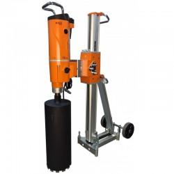 SISTEM COMPLET Masina de carotat DMP-500 si stativ DSP-500 BERGER,  putere 3.500W,  230V,  diametru maxim de carotare 500mm