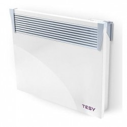 Convector electric de perete, TESY CN 03 050 EIS W, cu termostat electronic, display LED, timer, putere 500W