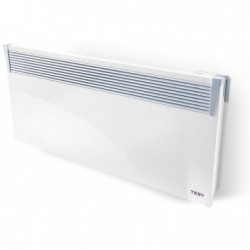 Convector electric de perete, TESY CN 03 250 EIS W, cu termostat electronic, display LED, timer, putere 2500W
