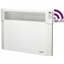 Convector electric de perete, TESY CN 04 100 EIS CLOUD W, cu termostat electronic si modul WI-FI incorporat, putere 1000W