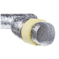 Tubulatura izolata, diametru 407mm, lungime 10m