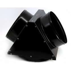 Adaptor metalic pt distributie aer cald, 1 iesire, diametru 350mm, EC55, Calore