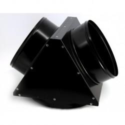 Adaptor metalic pt distributie aer cald,  2 iesiri,  diametru 300mm,  EC85,  Calore ACC196