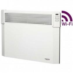 Convector electric de perete, TESY CN 04 200 EIS CLOUD W, cu termostat electronic si modul WI-FI incorporat, putere 2000W